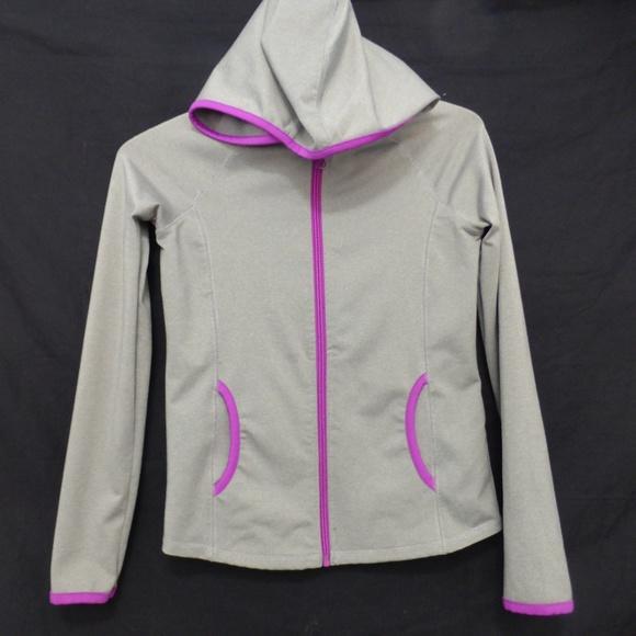 Joe Fresh girl's large 10-12 exercise jacket